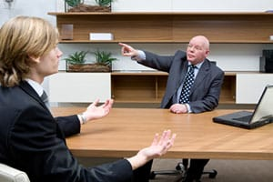 Employee can be fired for behavior during mediation